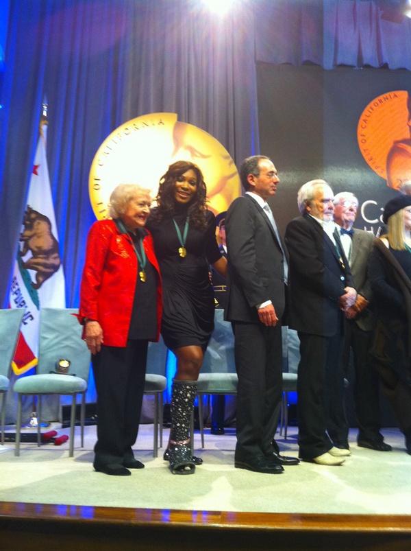 Serena Williams CA Hall of Fame