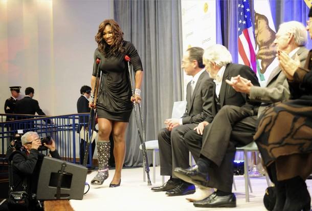 Serena Williams CA Hall of Fame 3