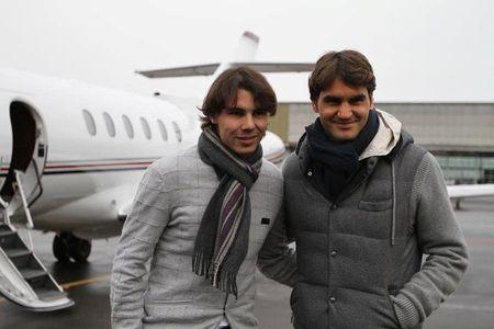 Rafael Nadal Roger Federer Zurich Exo.10 2