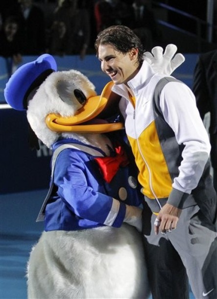Rafael Nadal Madrid Exo.10 With Donald Duck ap