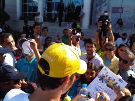 Roger Federer Abu Dhabi.11 Autographs Fb