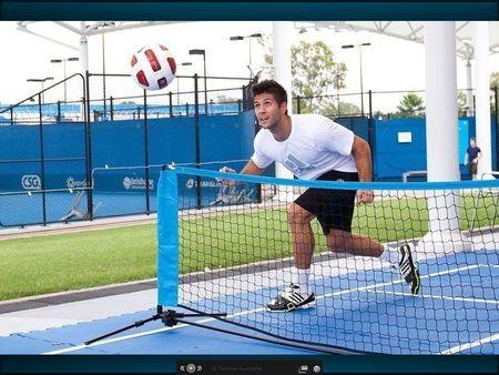 Fernando Verdasco Brisbane.11 Soccer Tennis