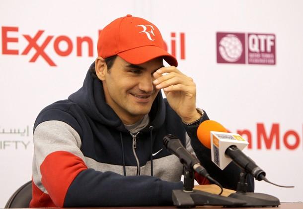 Roger Federer Doha.11 1st R Win g