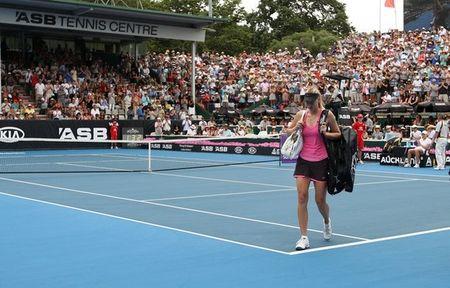 Maria Sharapova Auckland.11 Qf Loss g