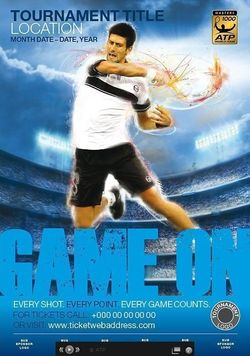 ATP Game On Novak Djokovic