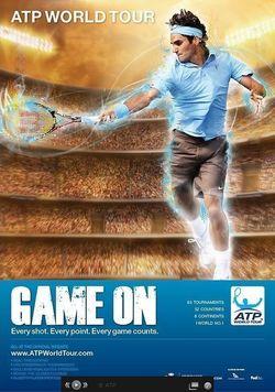 ATP Game On Roger Federer