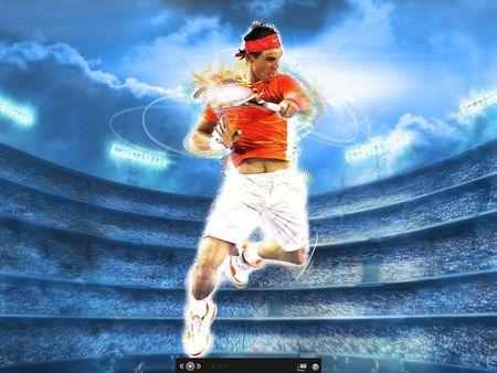 ATP Game On Rafael Nadal