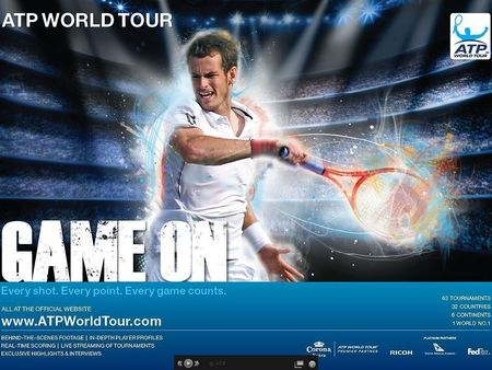 ATP Game On Andy Murray