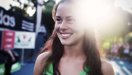 Ana Ivanovic AO11 Filming Commercial