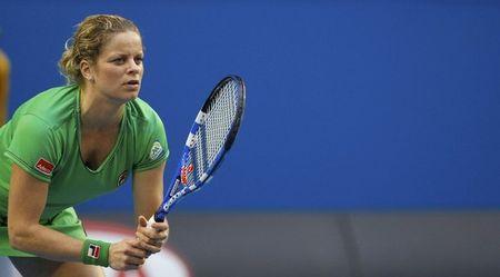 Kim Clijsters AO11 1st R Win r