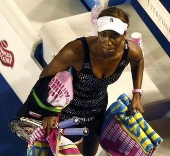 Venus Williams AO11 3rd R Loss r