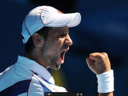 Novak Djokovic AO11 Qf Win g