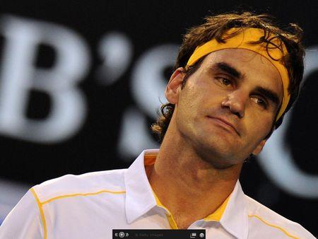 Roger Federer AO11 Sf Loss