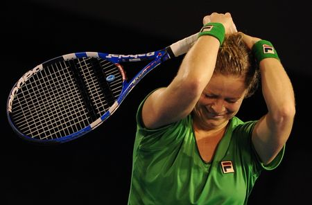 Kim Clijsters AO11 Winner 1