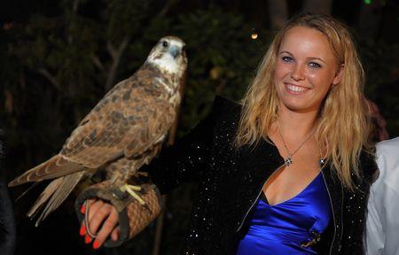 Caroline Wozniacki Dubai.11 Players Party