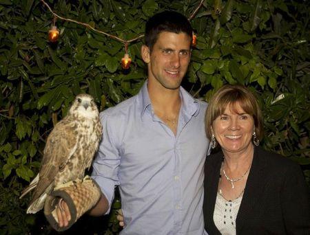 Novak Djokovic Dubai.11 Falcon