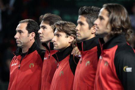 Spanish Davis Cup Team 1st Round 2011