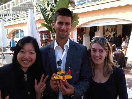 Novak Djokovic Wing Tennis Present