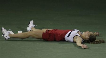 Anna Chakvetadze Dubai.11 2nd R Loss