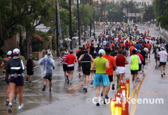 5 LA Marathon Down San Vicente