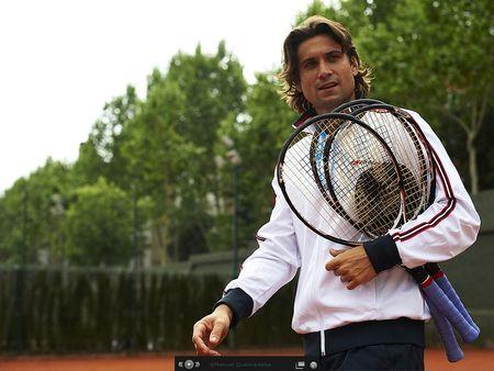 David Ferrer Barcelona 2011 Practice