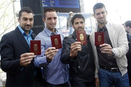 Serbian Players Get Diplomatic Passports