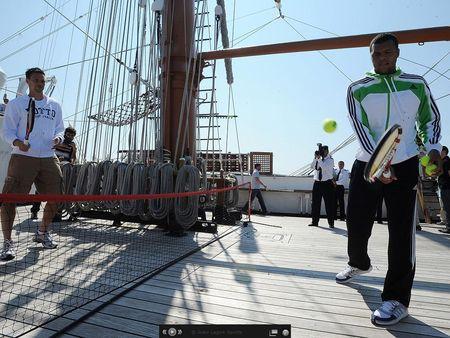 Robin Soderling Jo-Wilfried Tsonga Estoril.11 Naval Ship 2