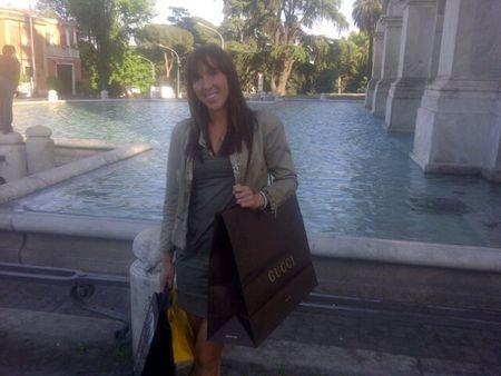 Jelena Jankovic Rome.11 Shopping