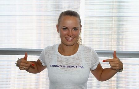 Caroline Wozniacki Strong is Beautiful