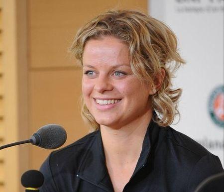 Kim Clijsters RG.11 Pre Tournament Presser fb