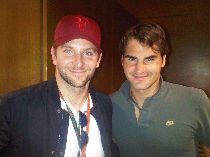 Roger Federer Bradley Cooper RG.11