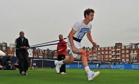 Andy Murray Queens.11 Practice fb