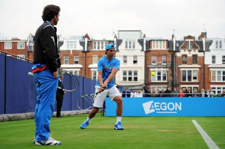 Rafael Nadal Queens.11 Practice g
