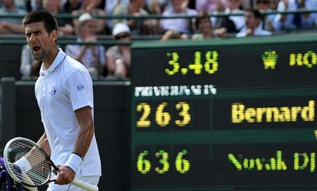 Novak Djokovic Wimbledon.11 Qf Win g