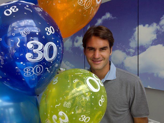 Roger Federer 30th Birthday