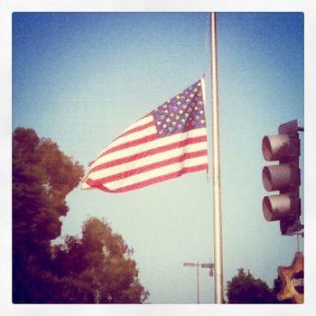 Flag Half Mast 9-11