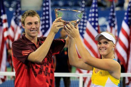 Jack Sock Melanie Oudin USO.11 Mixed Dubs Winners g