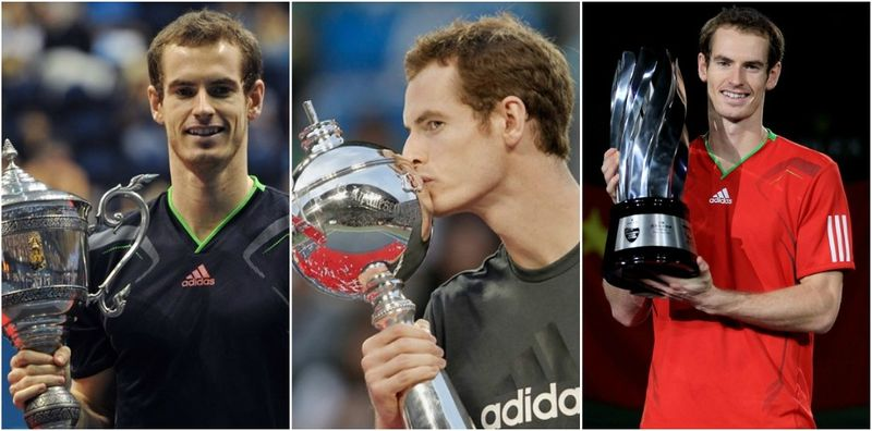 Andy Murray Asian Hat Trick