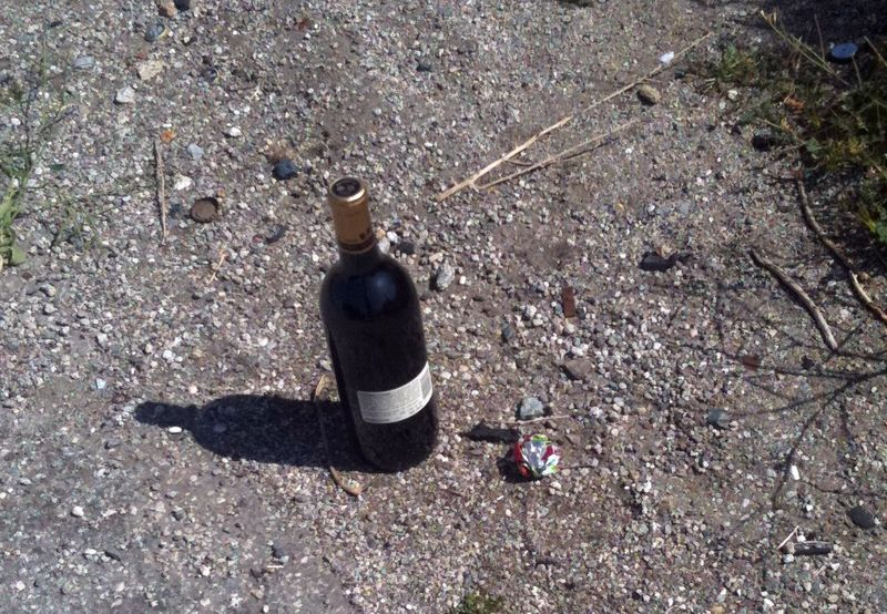Wine in the Side of the Road