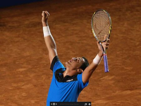 Nicolas Almagro Arm Up Top 10