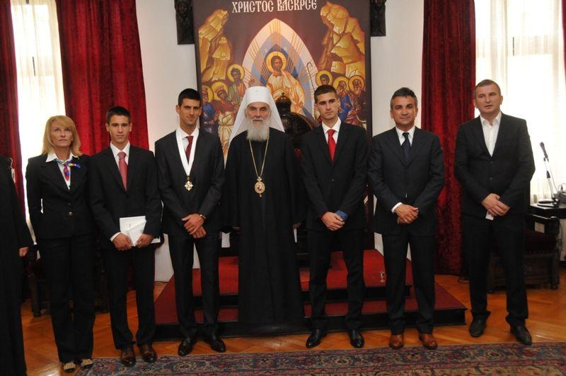 Novak Djokovic Saint Sava Honor 1