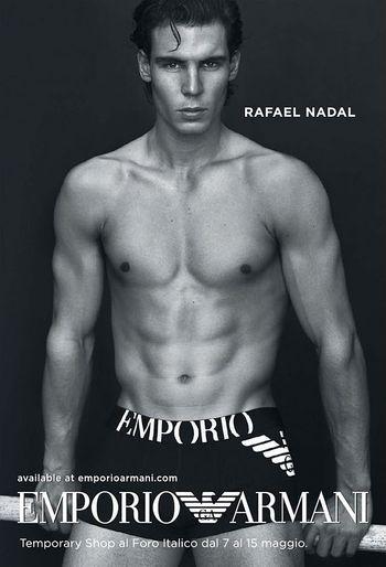 Rafael Nadal Armani Undies Ad May.11