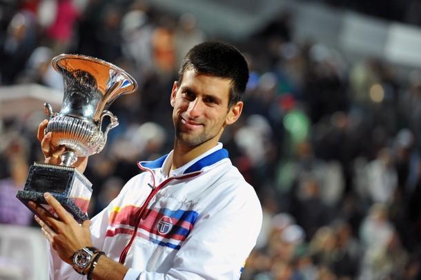 Novak Djokovic Rome.11 Winner g