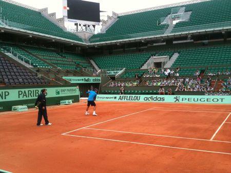 Roger Federer RG.11 Practice tw