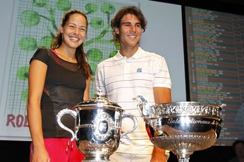 Rafael Nadal Ana Ivanovic RG.11 Draw Ceremony