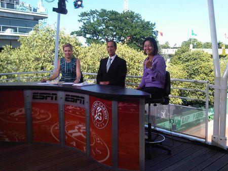 Li Na RG.11 Sf Win ESPN Set