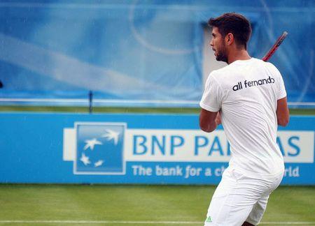 Fernando Verdasco Queens.11 Practice fb