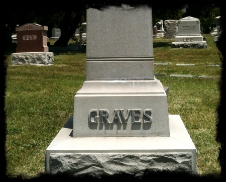 Copy of Hollywood Forever Graves Headstone iPhone