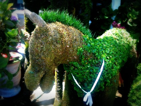 Copy of Horse Topiary