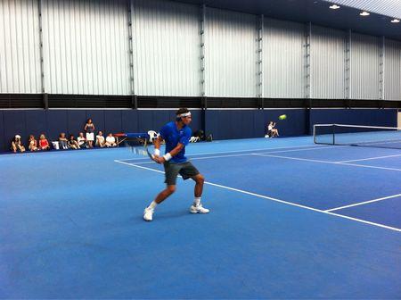 Rafael Nadal Practice Aug.3.11